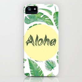 Aloha - from paradise (: iPhone Case