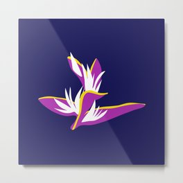 heliconia Metal Print