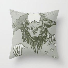 dungeon gatekeeper Throw Pillow