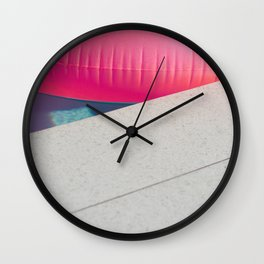 Floatie Wall Clock
