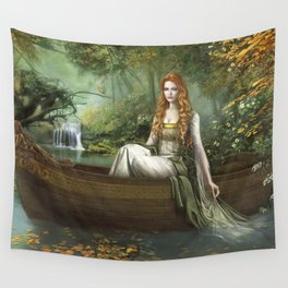Lady of the Rhine Wall Tapestry