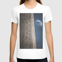egyptian T-shirts featuring Egyptian Moon by Vin Zzep