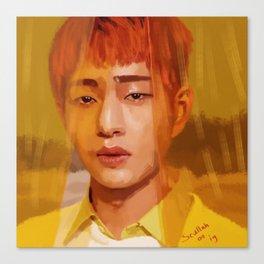 Onew Yellow Canvas Print