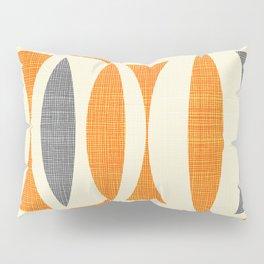 Seventies  orange Pillow Sham