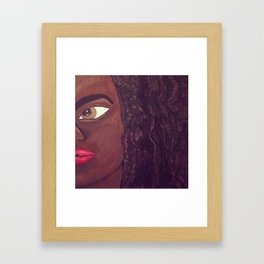 Pure Locs Framed Art Print