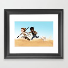 sw3 Framed Art Print