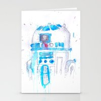 r2d2 Stationery Cards featuring R2D2 by sooarts