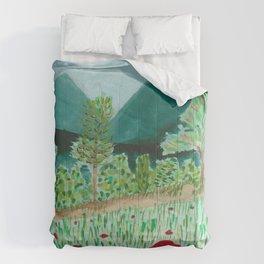 poppy-coquelicot Comforters