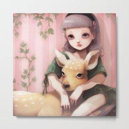 My dear lady deer... Metal Print