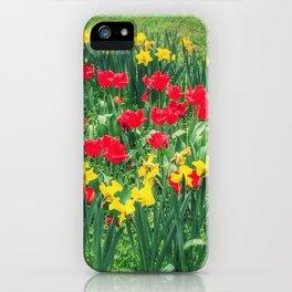Daffodil Hugs iPhone Case