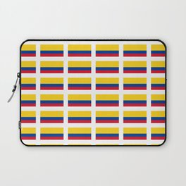 Flag of Colombia 2 -Colombian,Bogota,Medellin,Marquez,america,south america,tropical,latine america Laptop Sleeve