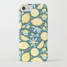 Lemon Pattern Green iPhone 7 Slim Case