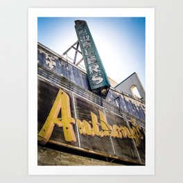 Anthony's - Pittsburgh, CA. 2003 Art Print