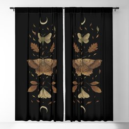 Autumn Moth Blackout Curtain