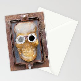 Steampunk Pirate Skull Stationery Cards