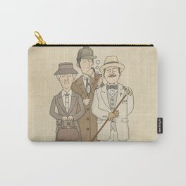 The Detectives - Miss Marple, Sherlock Holmes, Hercule Poirot Carry-All Pouch
