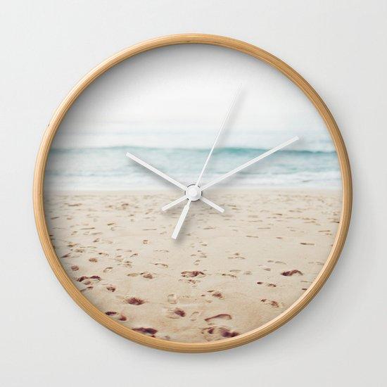 Guadalupe Beach Wall Clock