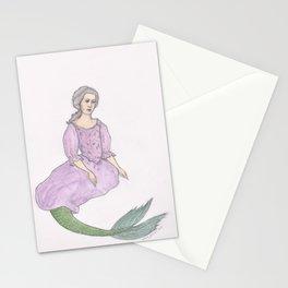 Sjöjungfrun Stationery Cards