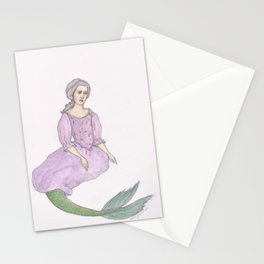 Sjöjungfrun Stationery Cards