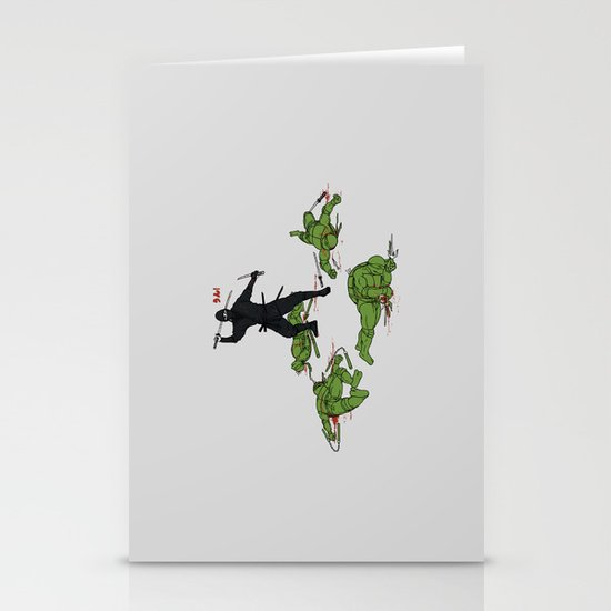 The Real Ninja Part 1 Stationery Cards