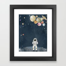 solar collector  Framed Art Print