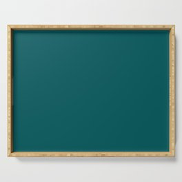 Classic Deep Teal Serving Tray