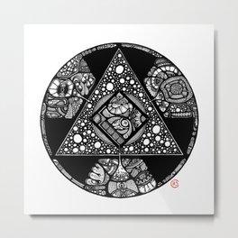 Altered Alchemy Metal Print