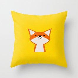 Hey Foxy! Throw Pillow