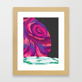 New Moon Framed Art Print