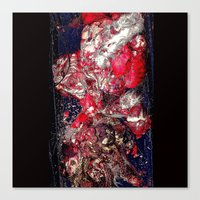 carnage Canvas Prints featuring Carnage by Jeni Decker