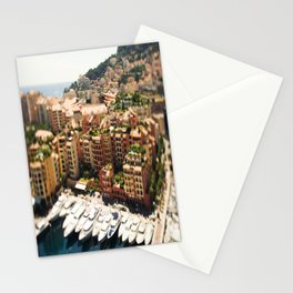 Monte Carlo Yacht's And City Stationery Cards
