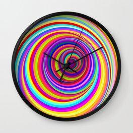 Hypnotic Psychedelic Vertigo Hole Wall Clock
