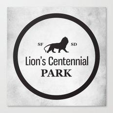 Lion's Centennial Park Canvas Print