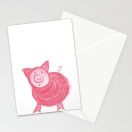 Little Piggy! Stationery Cards