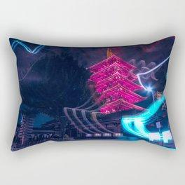 Senso-Ji Pagoda Rectangular Pillow