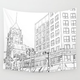 Hollywood And Highland Wall Tapestry