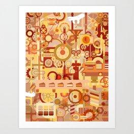 The Cake Factory Art Print