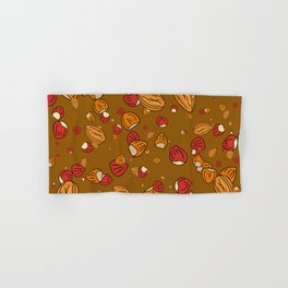 Nutty about Nuts Hand & Bath Towel