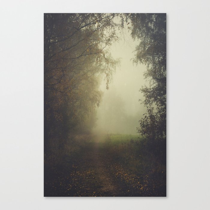 Unwritten poetry Canvas Print