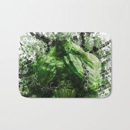 Green Hero Bath Mat