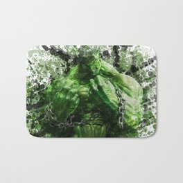 Green Hero Bath Mat