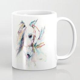 Fantasy white horse Coffee Mug