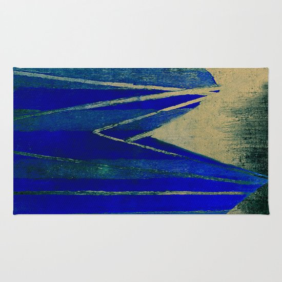 My Blue Whale Rug