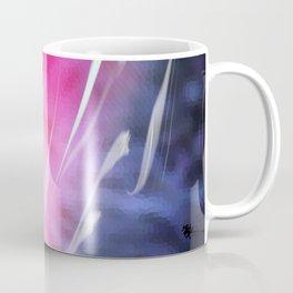 Abstract Coral & Deep Sea Seascape. Sunset & Sunrise colours. Coffee Mug