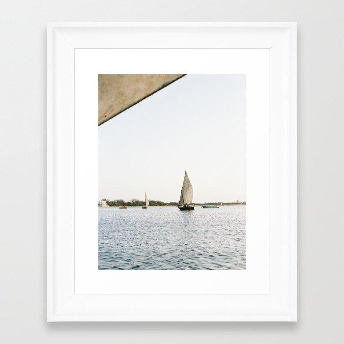 Dhow Framed Art Print