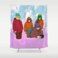 colorado Shower Curtains featuring Colorado by Benk