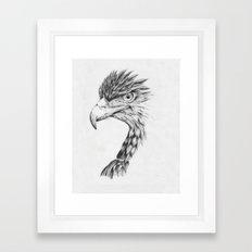 Black Eagle Framed Art Print