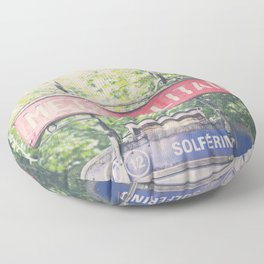 Paris metropolitan ... Floor Pillow