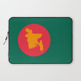 Bangladesh Flag Laptop Sleeve