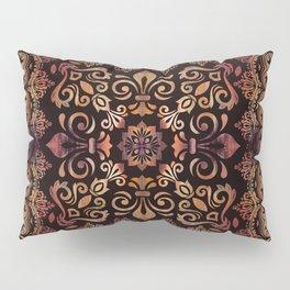 Oriental Damask Ornament - Vintage #3 Pillow Sham